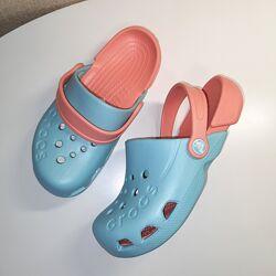 Кроксы Crocs Kids Electro Clog размеры J1 , J2 оригинал