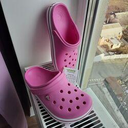 Сабо крокс Crocs Crocband Clog размер J3, оригинал