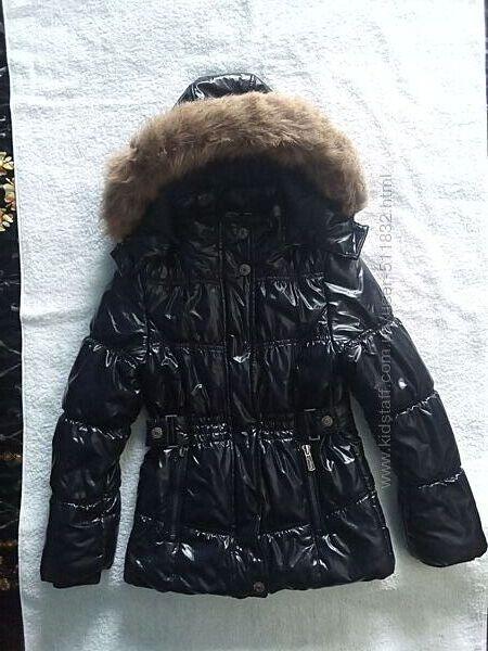 Куртка C&A Германия на девочку еврозима 7-8 лет рост 122-128 см