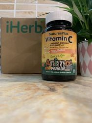 витамин С Nature&acutes Plus, Source of Life, Animal Parade, витамин C