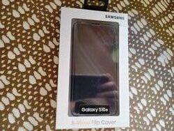 Оригинальный чехол Samsung Galaxy S-View Flip Cover S10e Black, Green