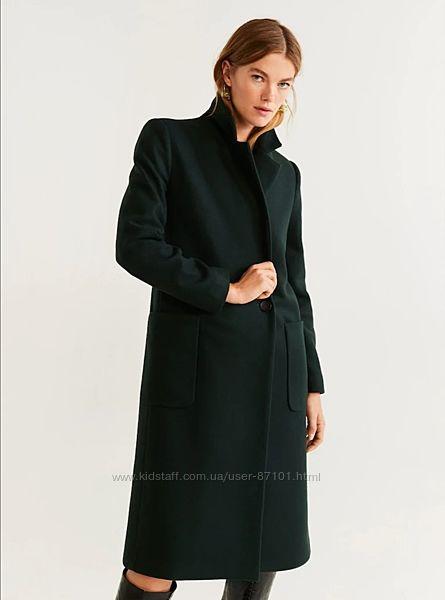 Sale Новое женское демисезонное пальто миди Mango M L 38 40