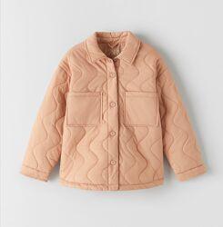Новая демисезонная куртка курточка ветровка рубашка для девочки подростка