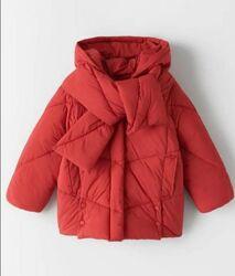 Новая демисезонная куртка курточка для девочки подростка 13 14 лет zara