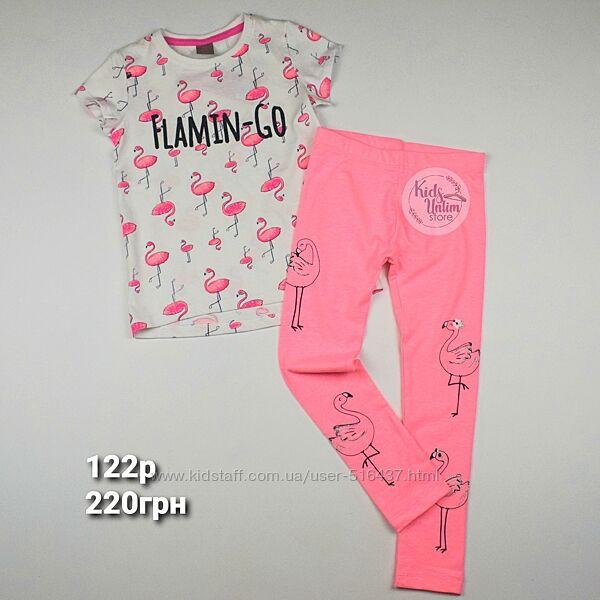 Комплект футболка лосинки 92-134p