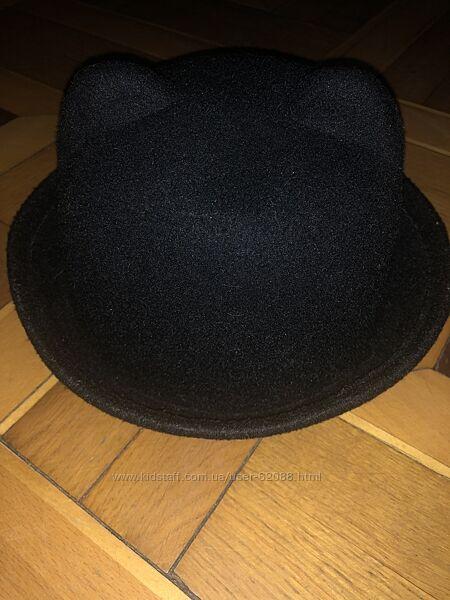 Шляпа с ушками для девочки р54