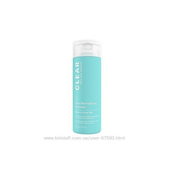 Paula&acutes Choice - Clear - Pore Normalizing Cleanser