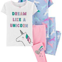 Пижама с единорогами Carters 2года р.88-93 cm