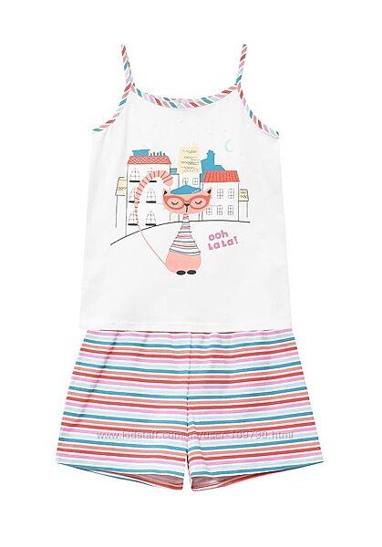 домашний костюм летняя пижама девочке Boboli 10 лет, рост 140