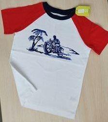 Красивая качественная футболка Crazy8 на 4-6 лет