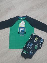 Теплая флисовая пижама C&A, рост 116