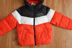 Теплая демисезонная куртка еврозима на мальчика C&A , размер 98,116,122