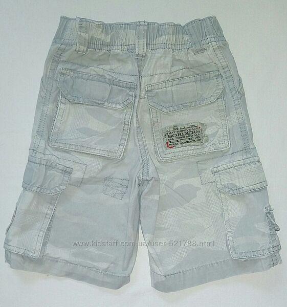 Модные стильные шорты Palomino брюки джинсы хлопок 92 см штаны
