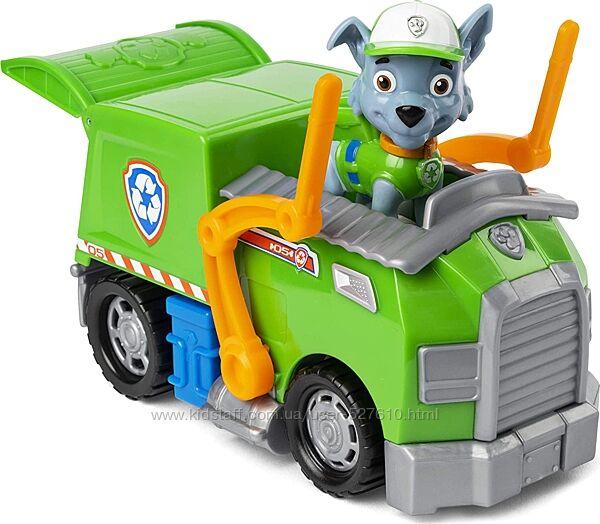 Щенячий патруль Роккі сміттєвоз Paw Patrol Rocky Recycle Truck Vehicle