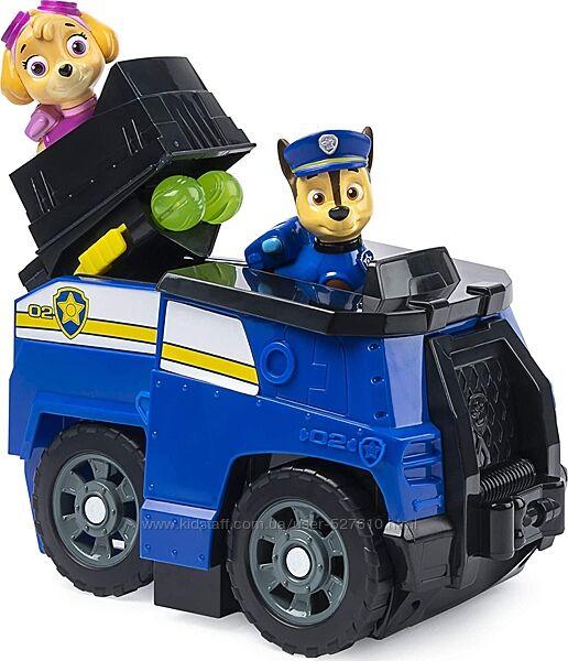 Щенячий патруль Скай Гонщик команда PAW Patrol Transforming Police Cruiser