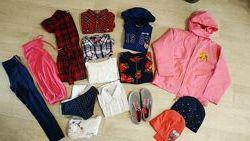 Пакет одежды весна-осень 6-8 лет