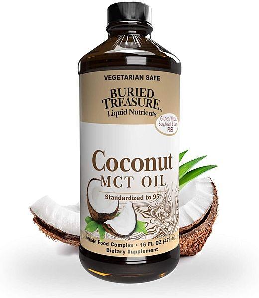 Buried Treasure МСТ кокосовое масло со среднецепочечными триглицеридами
