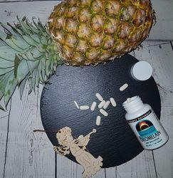 Source Naturals Bromelain Бромелаин 600 GDU/g. 500 мг, 120 таблеток