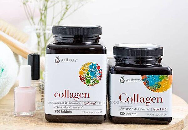 Youtheory Коллаген. 6000 мг, 120 таблеток