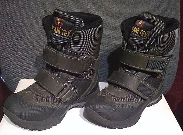 Ботинки зимние для мальчика Tiflani 29 19 см бу