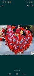 Цыганский костюм, платье