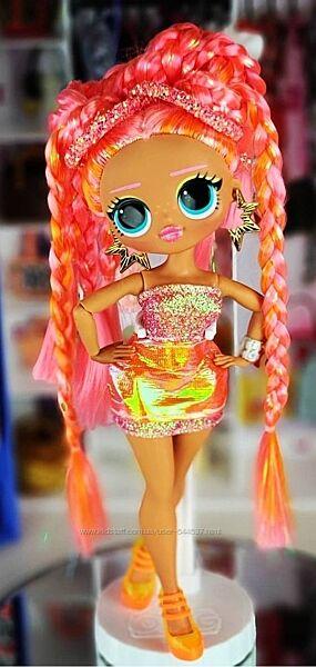 Кукла LOL OMG Lights Dazzle Лол ОМГ Светящаяся Неон Дезл. Оригинал