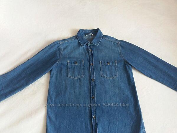 джинсовая рубашка на мальчика