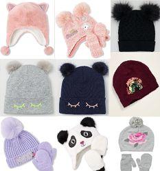 Модная шапка комплект H&M, Childrens девочкам. Выбор моделей