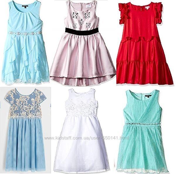 Нарядные фирменные платья США 10-14 лет. Новые модели. Выбор
