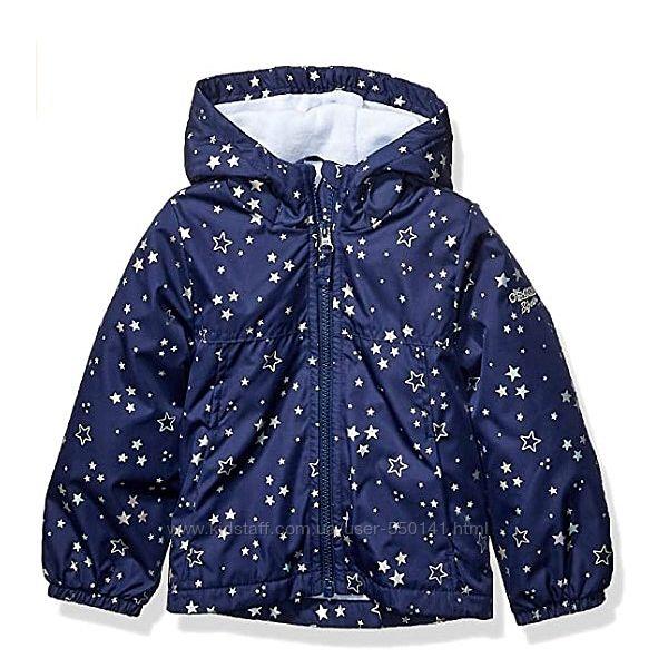 Деми куртка ветровка бомбер бренды Carters OshKosh девочкам 2T 4T Выбор