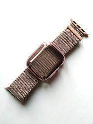 Спортивный браслет для Apple Watch 38мм с силиконовым чехлом