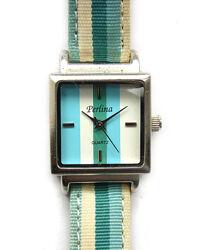 Perlina часы из США циферблат в тон с ремешком мех. Japan Miyota