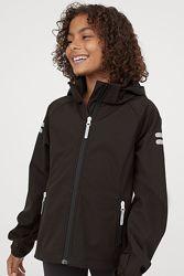 Деми куртка ветровка H&M Англия 128-134 см и 158-164 см софтшел