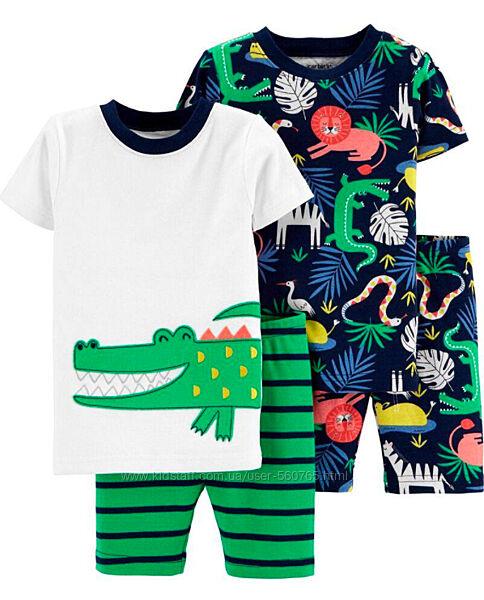 Пижама для мальчика Carters Америка 92-105 см Картерс 3T 4T хлопковая