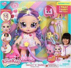 Интерактивная кукла Кинди Кидс Радуга Рейнбоу Кейт с набором доктора Kindi