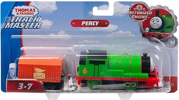 Моторизированный паровозик Томас и Друзья Перси Трекмастер Percy Thomas