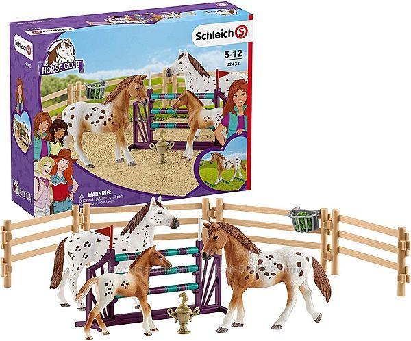 Schleich 42433 Тренировка Аппалузских лошадей Германия