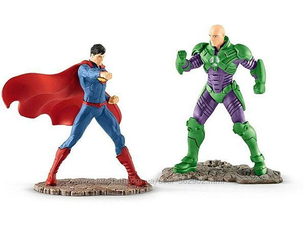 Schleich 22541 Лига справедливости Супермен против Лекса Лютора Superman