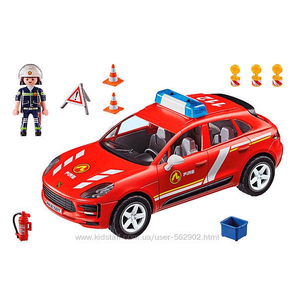 Playmobil 70277 Серия City Action  Порш Макан  Пожарная бригада Porsche
