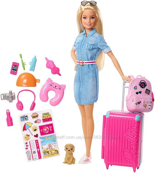 Barbie Journey Кукла Барби Путешественница Mattel FWV25