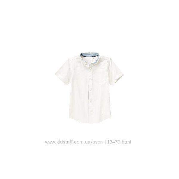 Школьная рубашка Gymboree на 7-8 лет 100 коттон