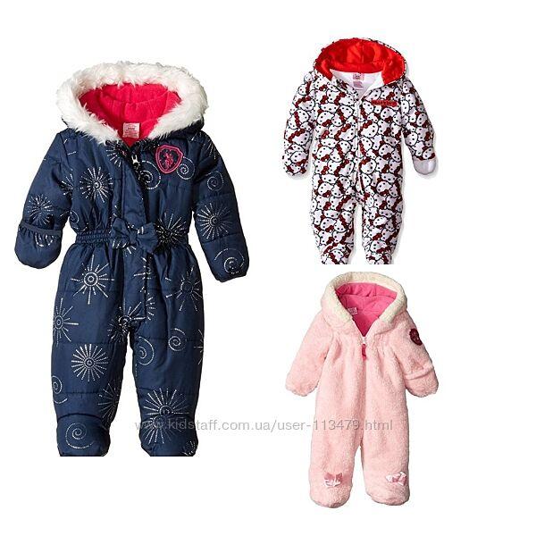 Комбинезоны US Polo Association Baby  на девочку на 3-6 мес