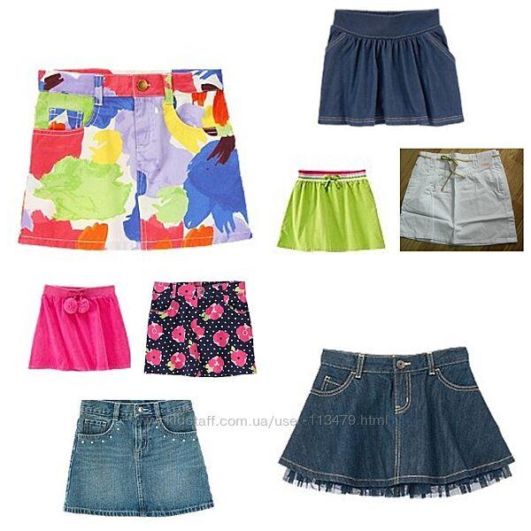юбки для девочек 5-8 лет с сайтов США