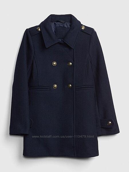 Пальто на девочку Gap на 12 лет  кепка