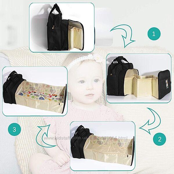 Сумка -рюкзак для пеленания KikidooАнглия