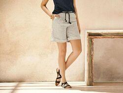 Льняные женские шорты esmara германия
