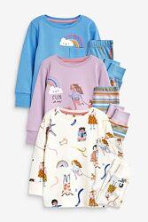Пижама NEXT размер 2-3года рост 92-98см