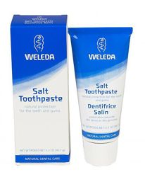 Weleda, Солевая зубная паста, минеральная, Pate dentitrice saline