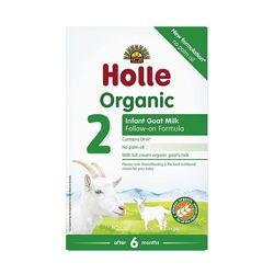 Holle 2 смесь из козьего молока органическая с 6 месяцев. В наличии