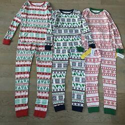 Новорічна піжама пижама Carters Новогодняя